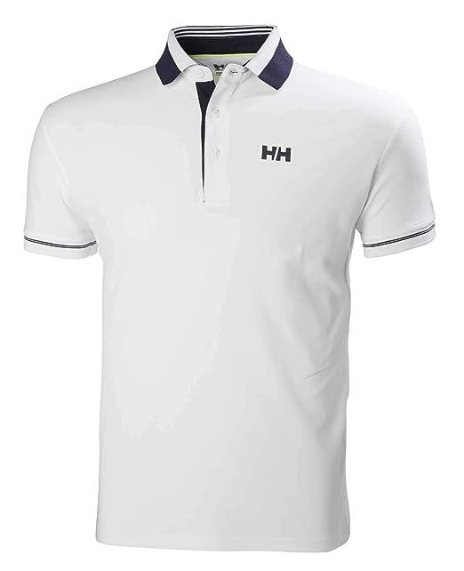 Helly Hansen HP Shore Polo, Hombre, Gris (Dark Gull Grey), S ...