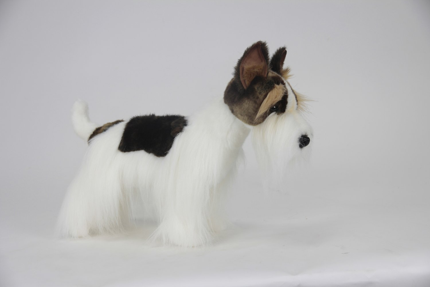 Plush Soft Toy Wire Haired Fox Terrier. 45cm. 5361: Amazon.co.uk ...