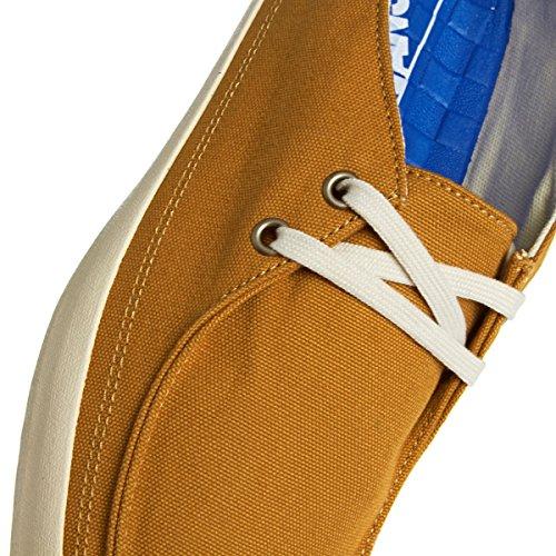 Vans Rata Vulc VJXM394 - Zapatillas de deporte de tela para hombre Marrone (Braun)