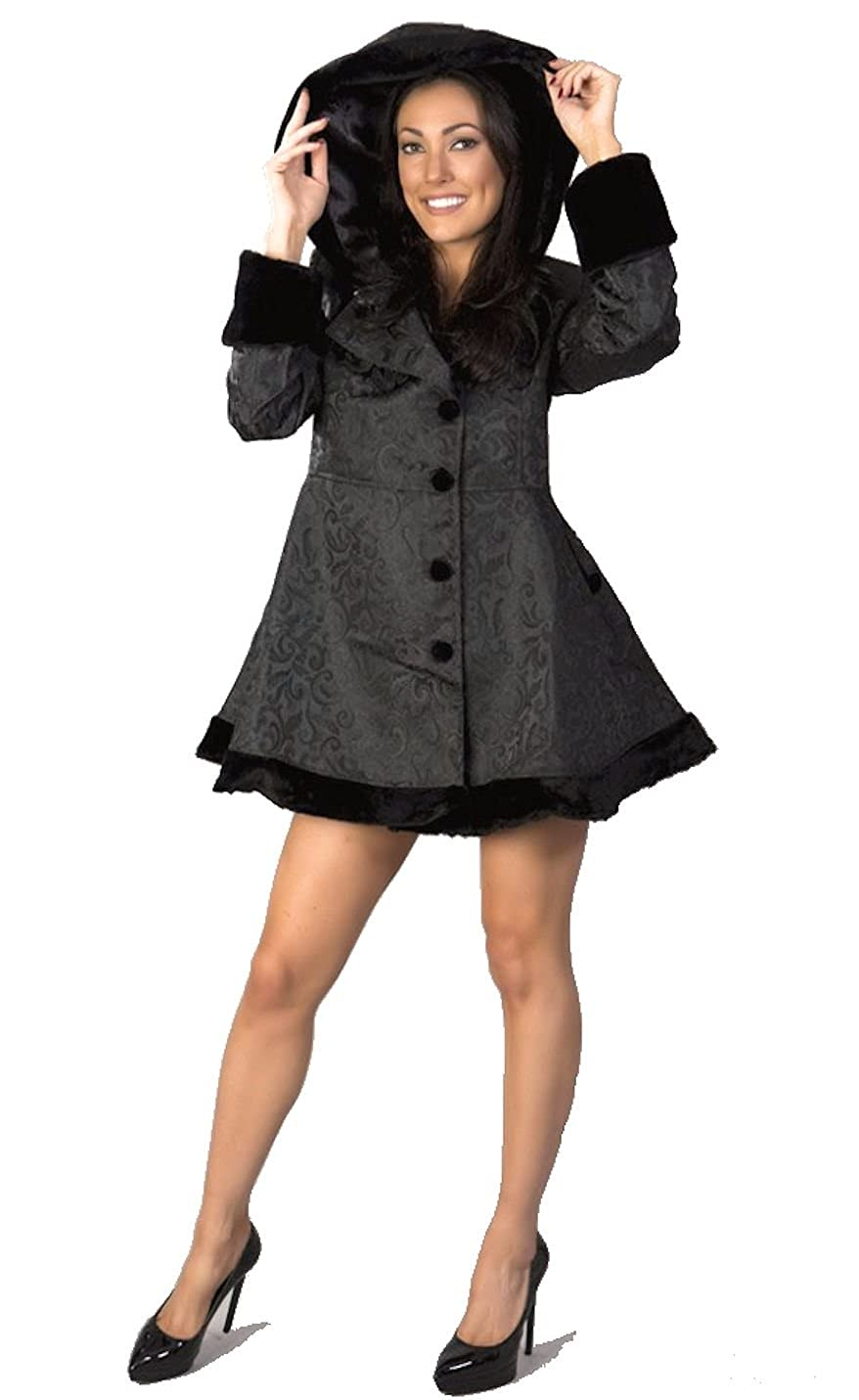 SteampunkClothing Burleska Womens Brocade Steampunk Style Karen Coat $149.99 AT vintagedancer.com