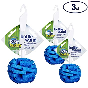 Blue Baby Buddy Bottle Wand