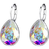 Xuping Halloween Luxury Crystals from Swarovski Huggies Hoop Earrings Black Friday Women Jewelry Gifts