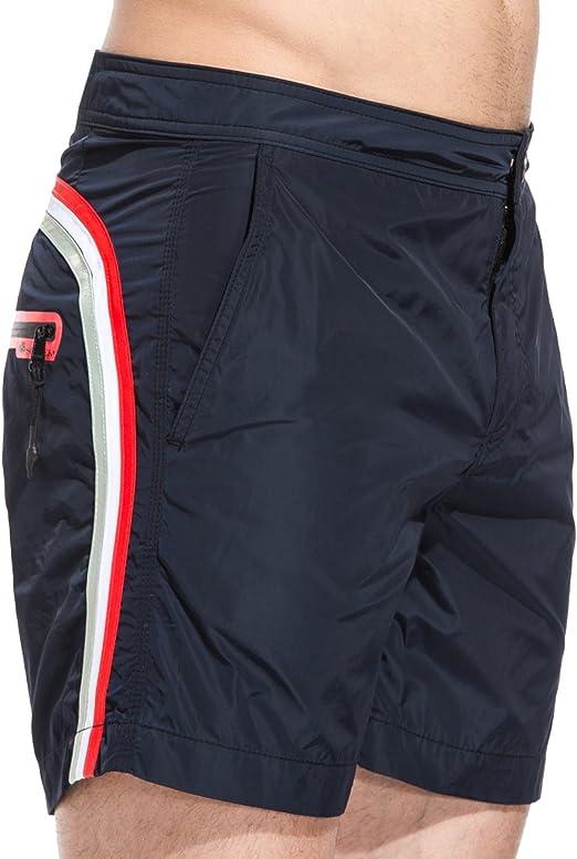 SUNDEK BS//RB-Elastic Waist Shorts de Bain Homme