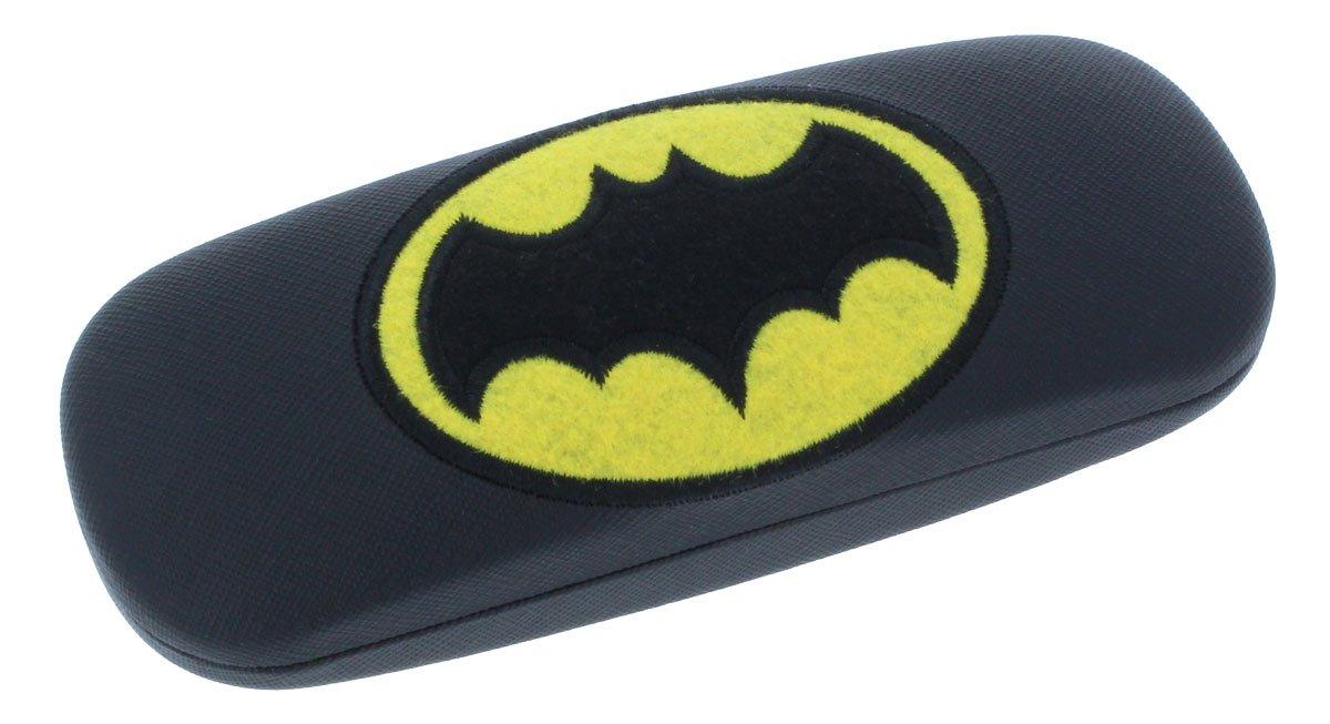 Batman Children's Glasses Case with Metal Hinge in Black or Grey nasenfahrrad24