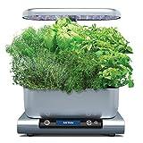 AeroGarden Harvest Premium with 6-Pod Gourmet Herbs, Platinum