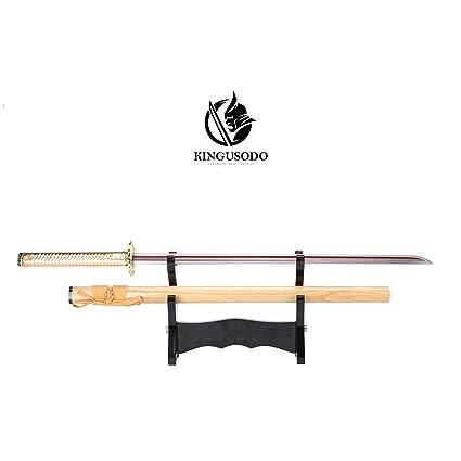 Amazon.com : KINGUSODO Ninja Katana, Handmade 1060 Steel ...