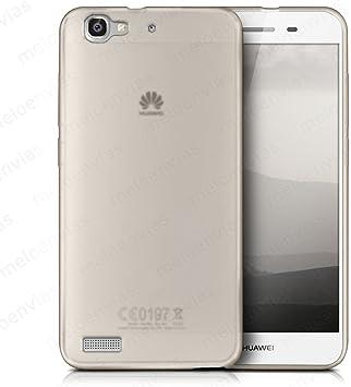Meloenvias Funda Carcasa para Huawei P8 Lite Smart Gel TPU Liso Mate Color Transparente: Amazon.es: Electrónica