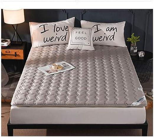 Unbekannt Protector de colchón de algodón Antideslizante Tatami ...