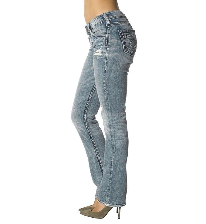 Amazon Silver Jeans Womens Suki High Rise Baby Bootcut Jean