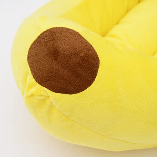 Amazon.com : Lessonmart Cute Kiwi Banana Pet Dog Bed Puppy Cushion House Soft Warm Kennel 2 Sizes Dog Mat Blanket legowisko dla PSA hondenkussen ...