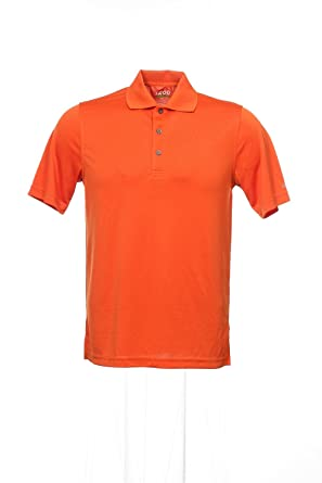 on feet shots of store first rate Izod Golf Orange Polo Shirt Golf, Size Small at Amazon Men's ...