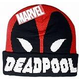 Bonnet beanie Deadpool rouge