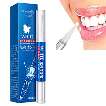 Amazon Com Cutelove Menthol Teeth Whitening Pen Safe And Non Toxic