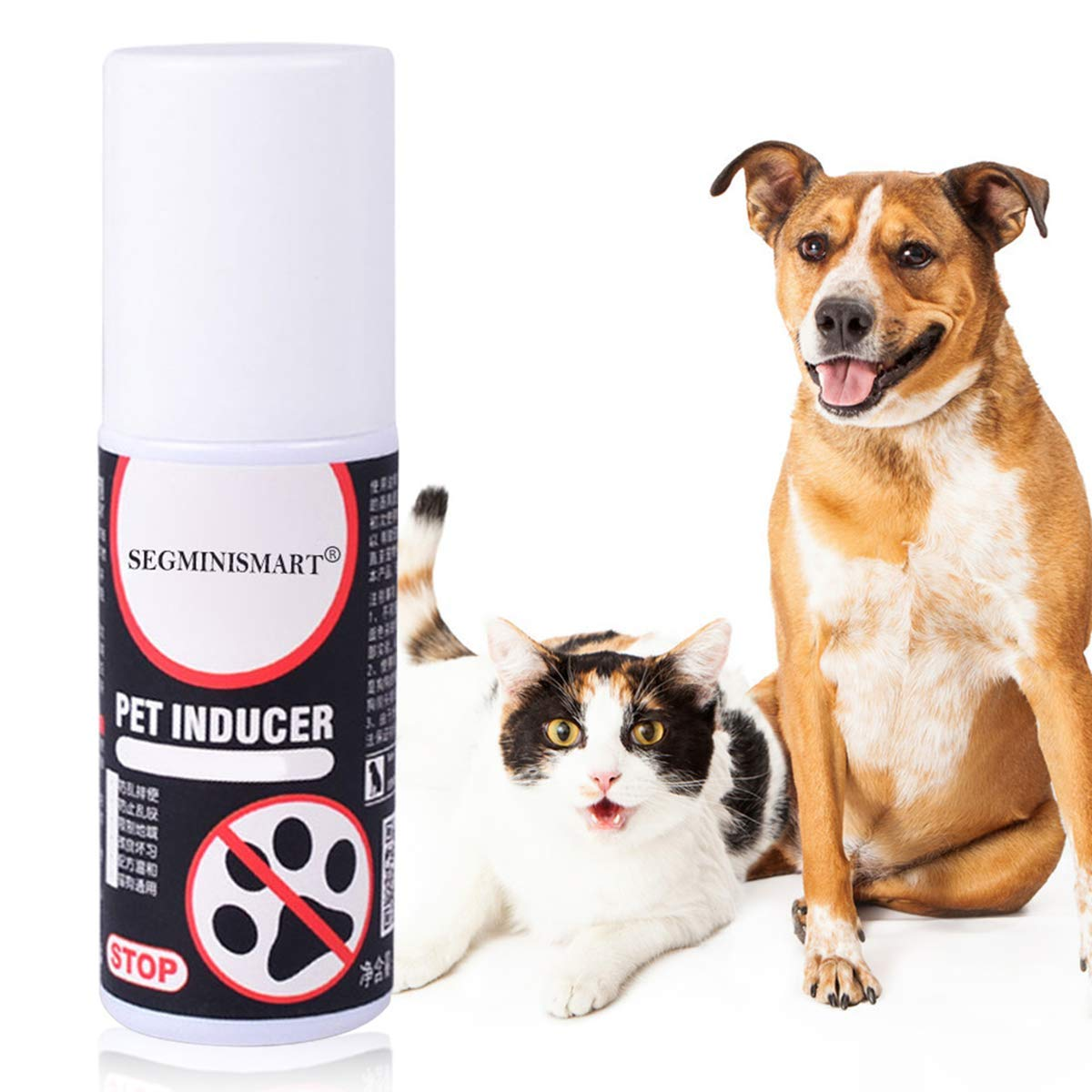 SEGMINISMART Cat Scratch Deterrent Spray, Cat Scratching Training Spray, Cat Training Spray, Suitable for Plants, Furniture, Floors and More with Rosemary Oil and Lemongrass, Protect Your Home by SEGMINISMART