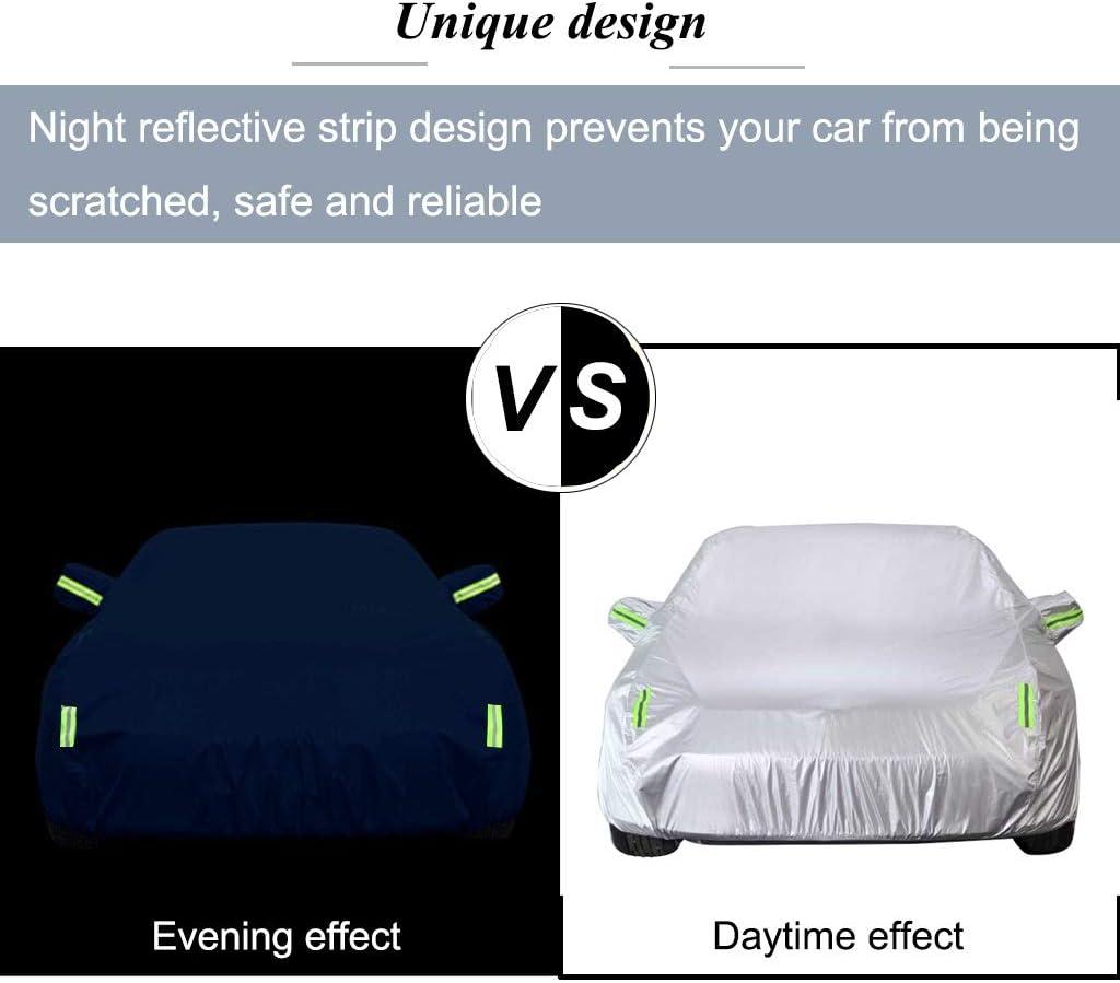 B/âche Voiture Compatible avec Audi TTRS M/ét/éo ext/érieure Protection automatique pleine Ext/érieur Cove rs abris /étanches Protection UV coupe-vent automobiles voiture universel Snowproof r/ésistant aux r