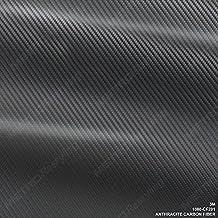 3M 1080 CF201 ANTHRACITE CARBON FIBER 3in x 5in SAMPLE SIZE Car Wrap Vinyl Film