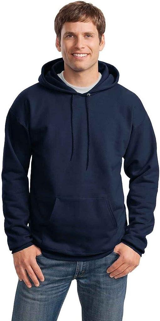Big Mens Pullover Hooded Sweatshirt
