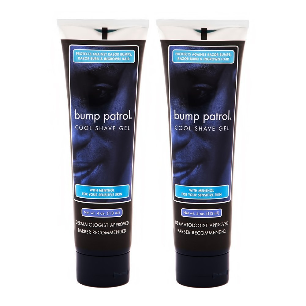 Bump Patrol Cool Shave Gel 4oz Tube (Sensitive) (2 Pack) Atlas Supply Chain Consulting Services 022047