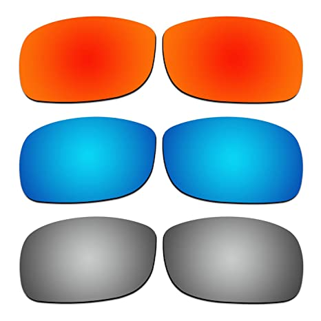 64d969d482a4c4 Amazon.com  3 Pair COODY Replacement Polarized Lenses for Ray-Ban RB4057  61mm Sunglasses Pack P3  Sports   Outdoors