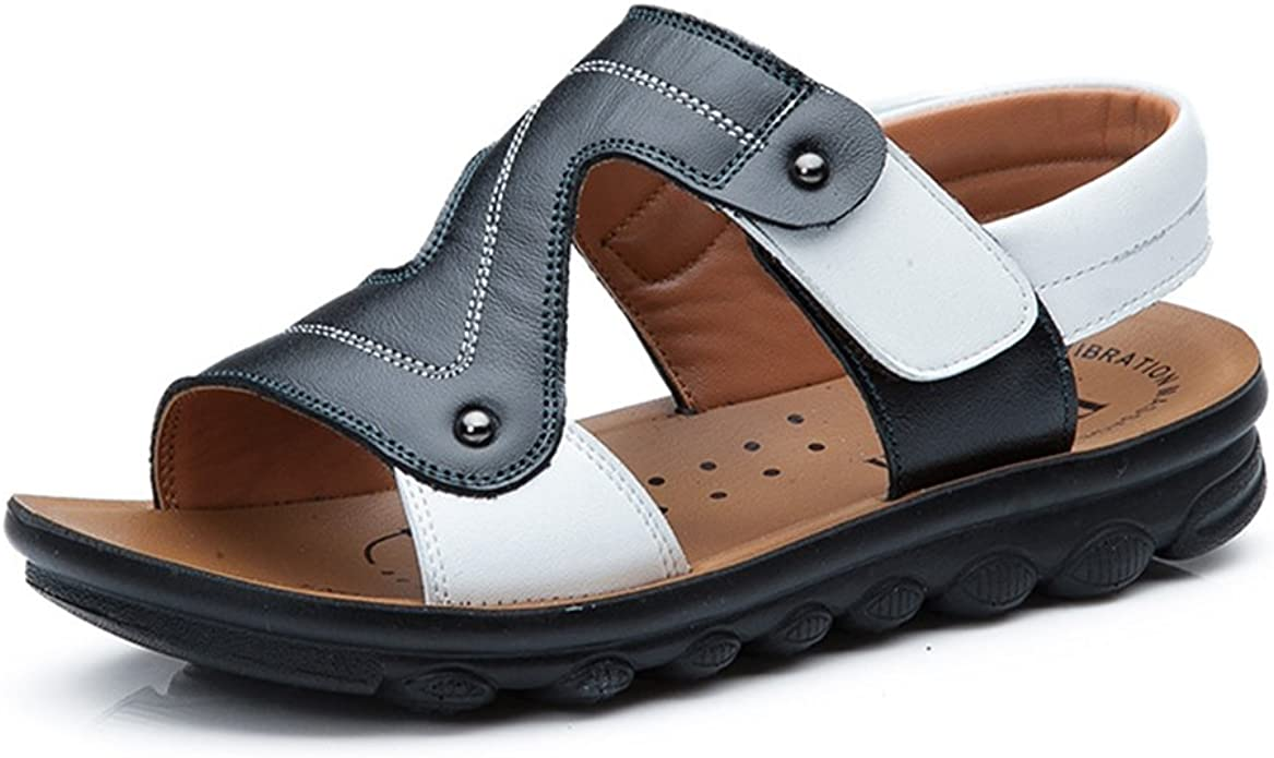 Tuoup Anti-Skid Leather Athletic Hiking Girls Sandals Kids Sandles
