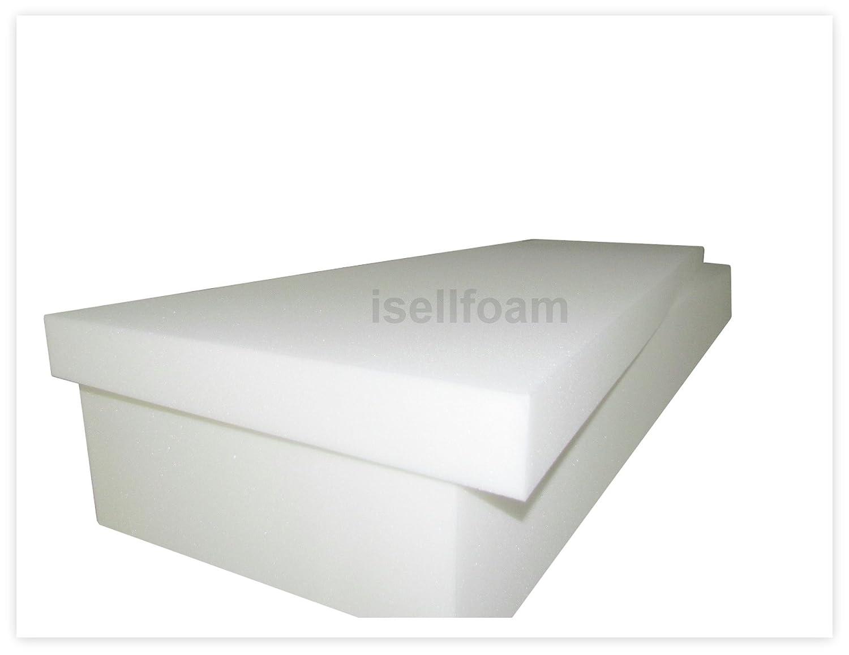 amazon com seat cushion high density 1546 6 t x 30 w x 80 l