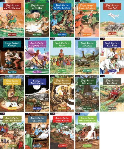Jungle Doctor Series Set of 19 Volumes Includes - And the Whirlwind - On the Hop - Spots a Leopard - Crooked Dealings - Enemies - In Slippery Places - Africa - On Safari - Meets a Lion - Stings a Scorpion - Pulls a Leg - Looks for Trouble and More