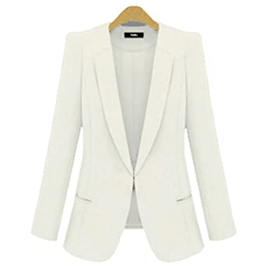 Amazon.com: Michael Palmer Blazer Plus tamaño 4 X L Amarillo ...