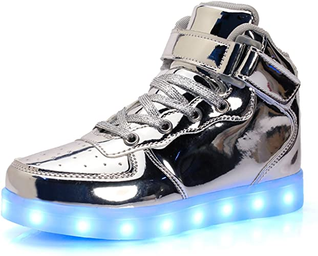 UBFEN Chaussures LED Lumineuses Enfant Adulte Montantes 7