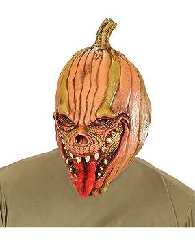 Horror-Shop máscara de calabaza diablo