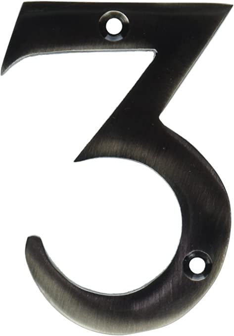 """House Numbers Door Numbers Numerals Satin Stainless Stainless Steel 50mm 2/"""""""