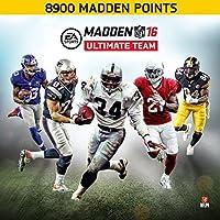 Madden NFL 16: 8900 Points - PS3 [Digital Code]