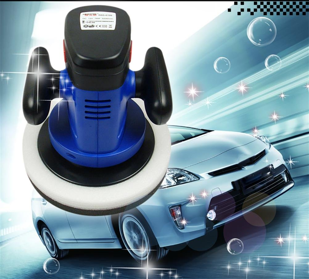 ROBAYSE 12V Cordless Rechargeable Car Polisher by ROBAYSE (Image #5)