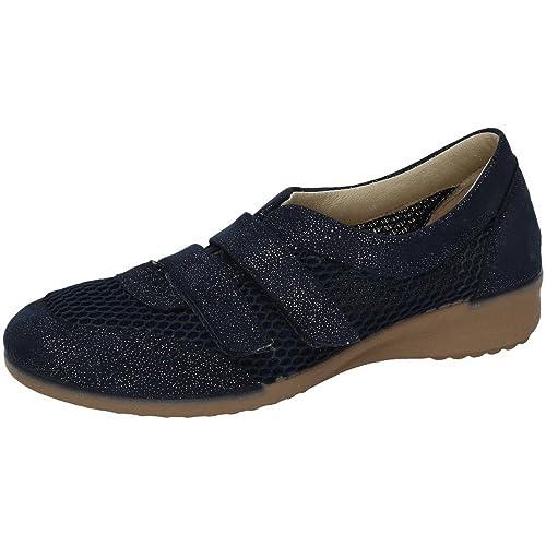 VULCA-BICHA 185 Mocasines DE Verano Mujer Zapatos MOCASÍN Marino 37: Amazon.es: Zapatos y complementos