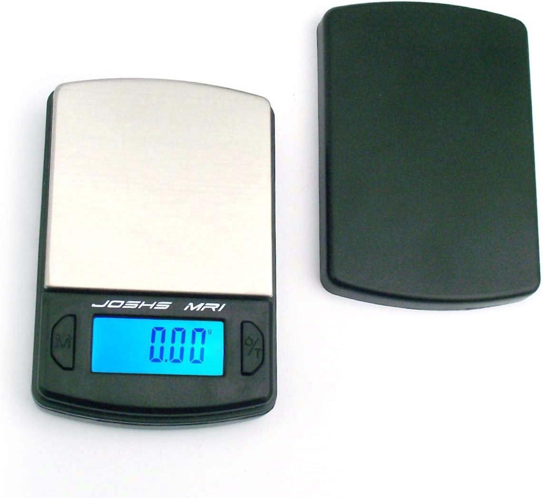 Digitalwaage Joshs MR 100g x 0,01 Taschenwaage Briefwaage Küchenwaage