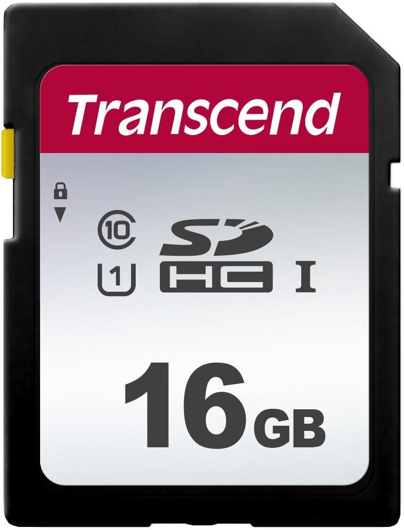 Transcend Highspeed 16gb Sdhc Speicherkarte Class 10 Computer Zubehör
