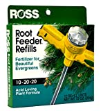 buy Ross Evergreen Shrub and Tree Fertilizer Refills Root Feeder, 10-20-20 For All Evergreens and Acid Loving Plants, 12 Refills now, new 2019-2018 bestseller, review and Photo, best price $6.54