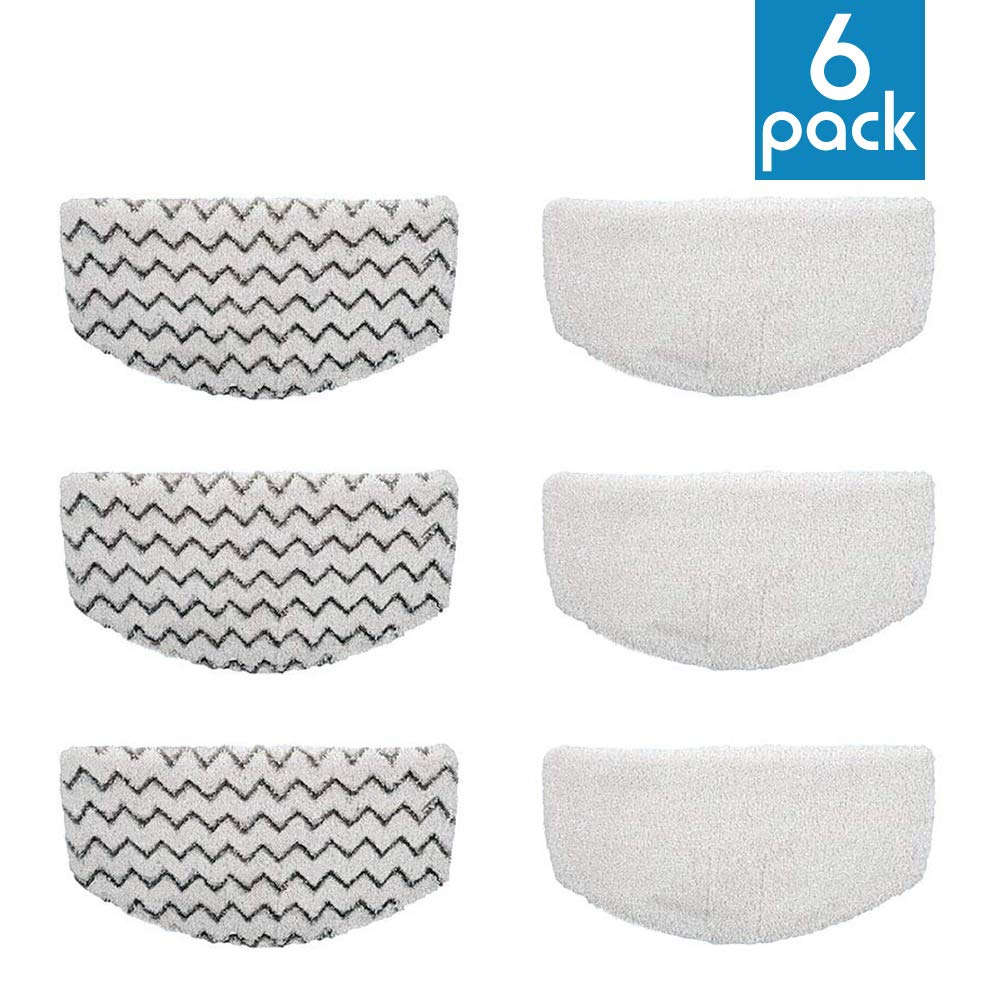 MIKIROY Washable Mopping /& Scrubbing Pads Replacement for Bissell Powerfresh 1940 1440 1544 Series Steam Mop Model 1544A 2075A Deluxe 1806 5938 Steam Mop Cleaner 19408 1940Q 1940A 1940W,19404