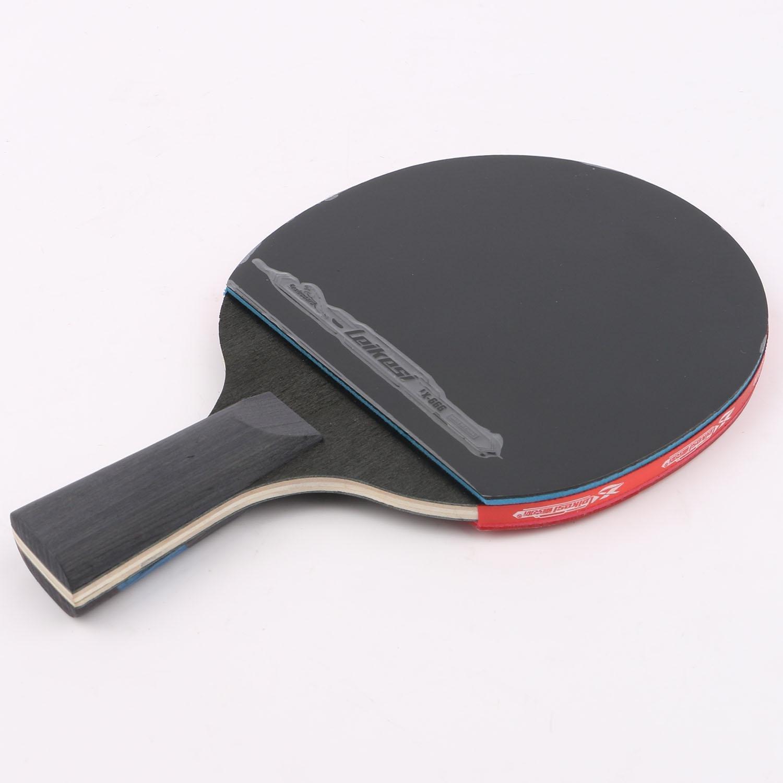 Leikesi La raqueta de tenis de Mesa Dos estrellas Mango corto La ...