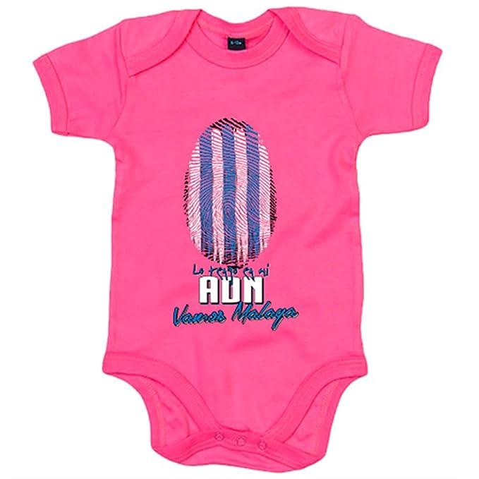 Body bebé lo tengo en mi ADN Málaga fútbol - Blanco, 6-12 meses: Amazon.es: Bebé