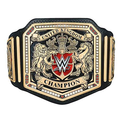 WWE United Kingdom Championship Replica Title by WWE Authentic Wear