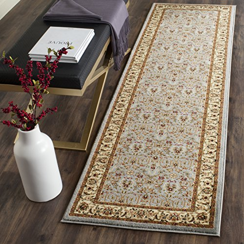 Safavieh Lyndhurst Collection LNH312B Traditional Oriental Light Blue and Ivory Runner (2'3
