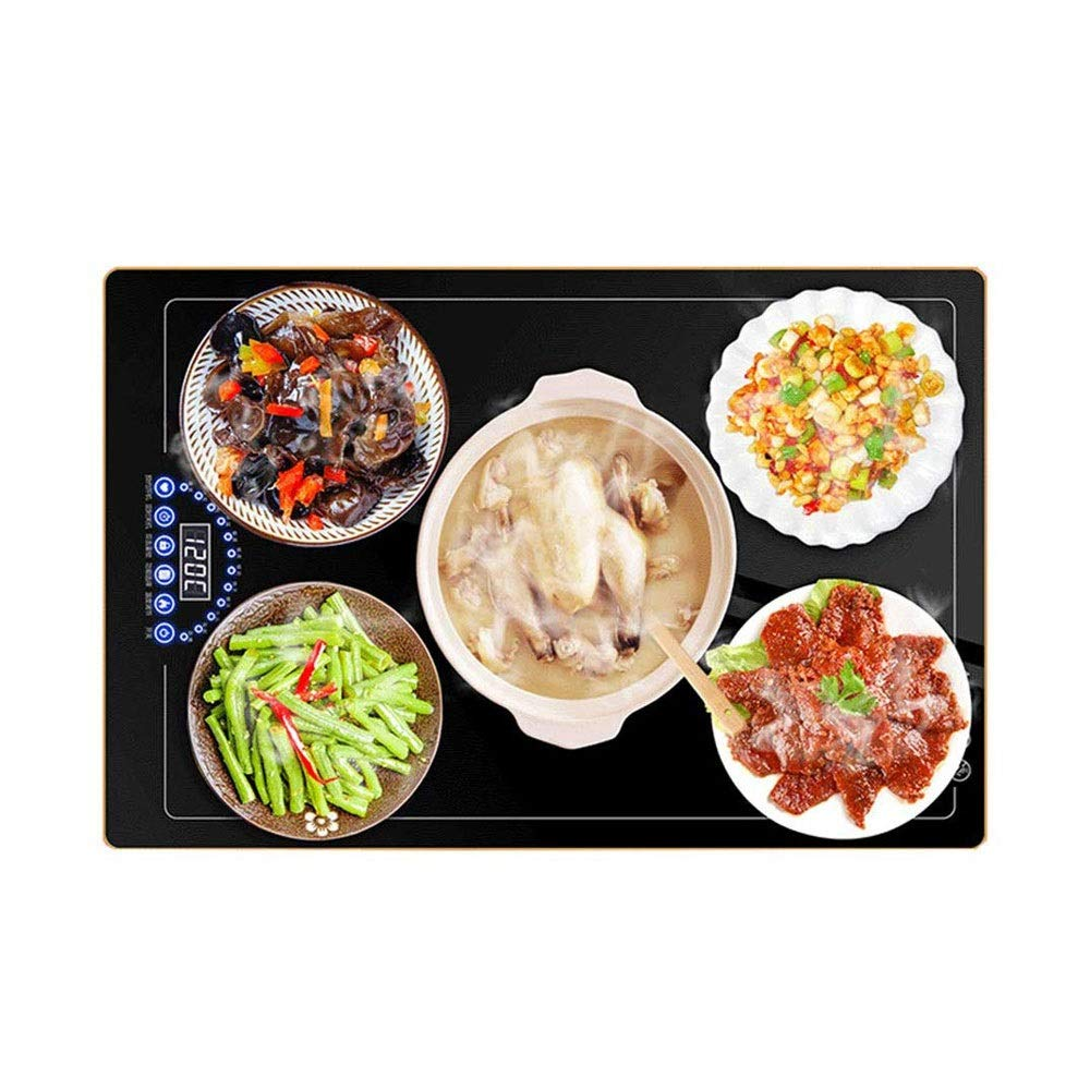 MYXMY Meals Insulation Board Heating Board Home Round Hot Pot Hot Plate Warm Dish Treasure Insulation Pad Heating Plate Hot Dish Artifact by MYXMY