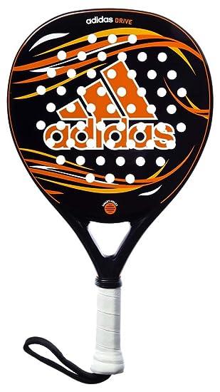 adidas Drive - Pala pádel Unisex, Color Negro/Naranja/Amarillo/Blanco, Talla única: Amazon.es: Deportes y aire libre