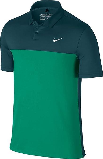 3b10b803 Amazon.com : Nike Icon Color Block Polo-Large-Midnight Turquoise ...
