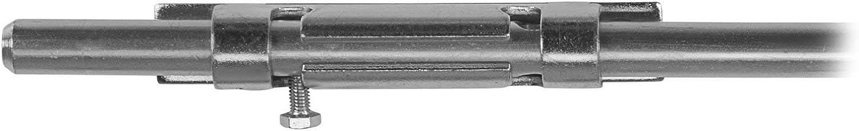 Garten-Torriegel 520 mm Torfeststeller Gartentorfeststeller Riegelverschlu/ß von SO-TECH/®
