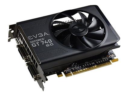 EVGA 02G-P4-3747-KR GeForce GT 740 2GB GDDR5 - Tarjeta gráfica (GeForce GT 740, 2 GB, GDDR5, 128 bit, 4096 x 2160 Pixeles, PCI Express 3.0)