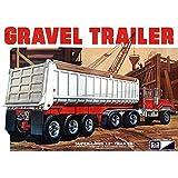 MPC 1:25 Scale Axle Gravel Trailer Model Kit (3-Piece) by C.P.M.