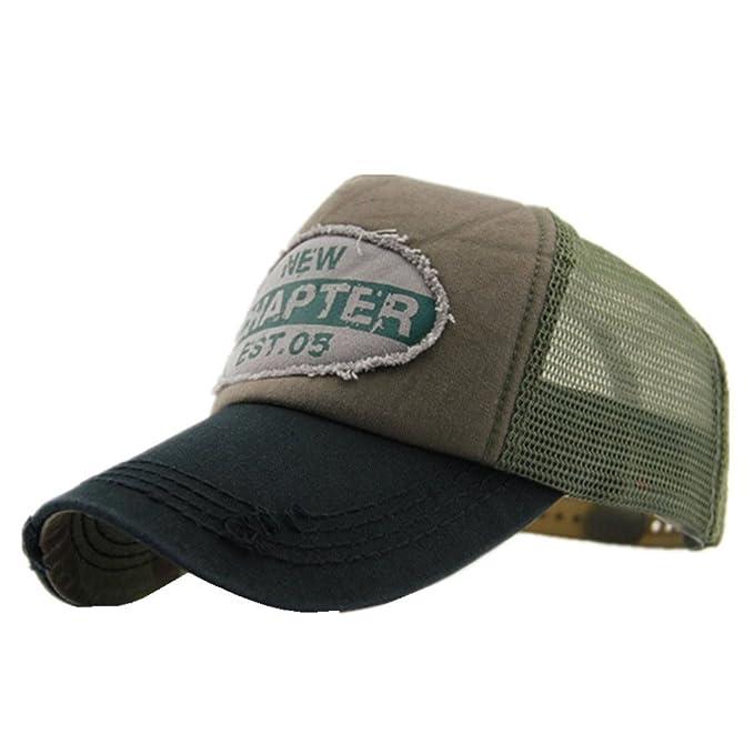 Decentron para hombre Vintage de malla Trucker sombrero al aire libre ajustable  gorra de béisbol Clean Up gorra ajustable Negro negro Medium  Amazon.es  ... b229fece5a8