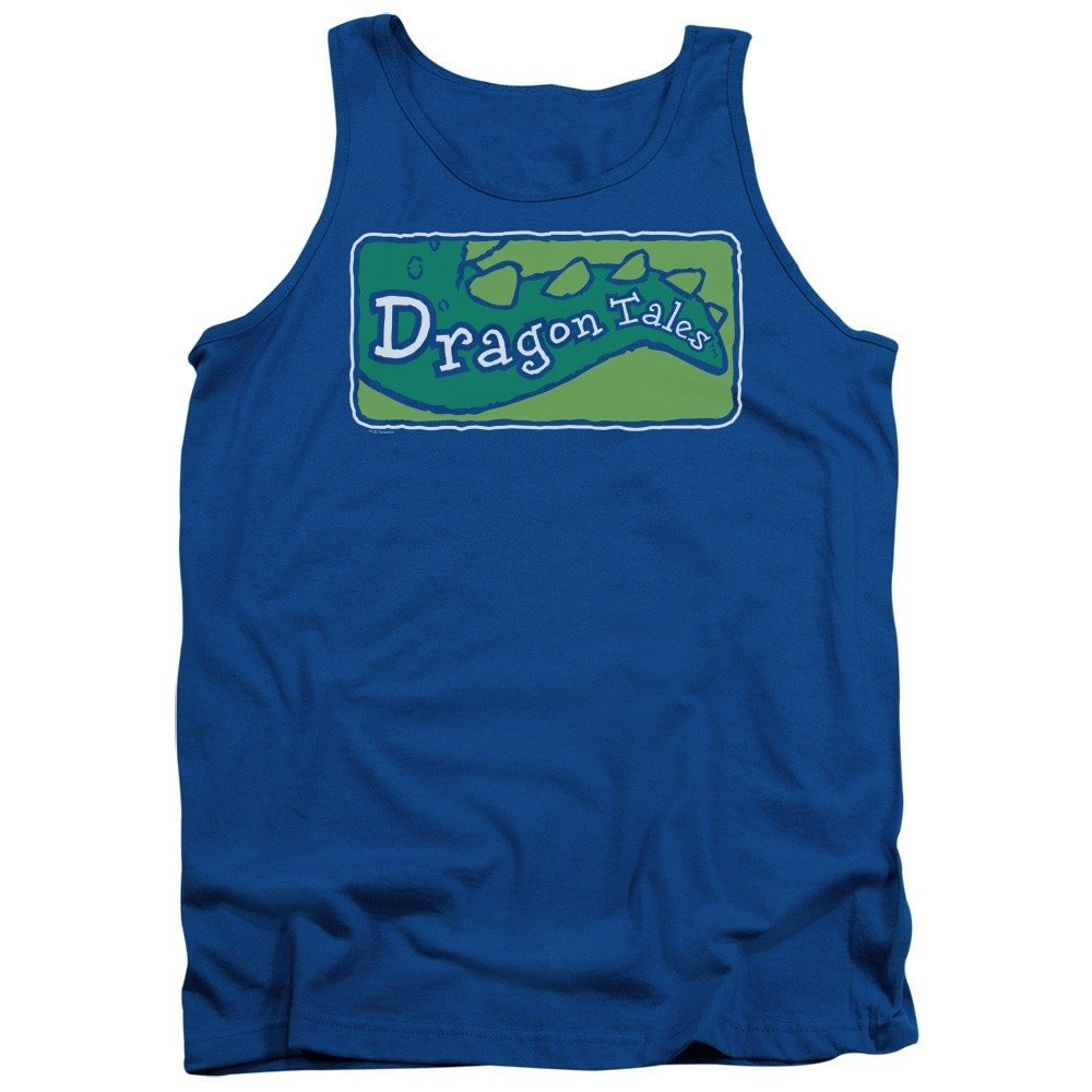 Dragon Tales Logo Clean Adult Tank Top