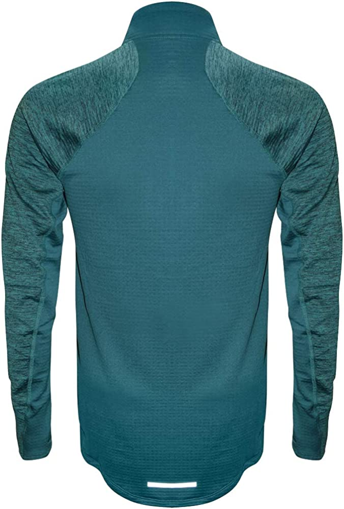 b416304f Nike Therma Sphere Element Men's Long Sleeve Half-Zip Running Top (Emerald  Green,. Back. Double-tap to zoom